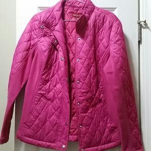 Merona size XL DK Pink jacket